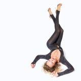 Sexy showgirl Stock Photo