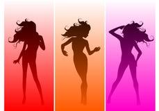 Sexy Silhouette Gradients Stock Photo