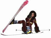 Skibunny Stock Photo