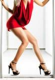 slim woman legs Stock Photography