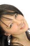 smiling brunette Royalty Free Stock Photos