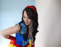 Sexy Snow White Royalty Free Stock Photography