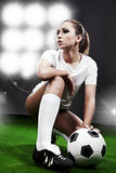 soccer player, royalty free stock photos