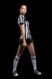 Sexy Soccer Referee Royalty Free Stock Photography