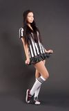 Sexy Soccer Referee Stock Images
