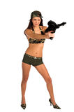 Sexy Soldier Royalty Free Stock Photo
