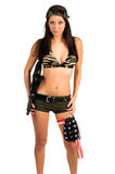 Sexy Soldier Royalty Free Stock Images