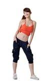 Sexy sport girl posing Stock Image