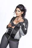 Sexy srilankan model Stock Photography