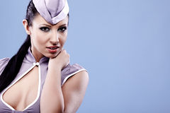 stewardess woman Stock Photography
