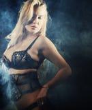 Sexy striptease dancer Stock Image