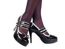 stylish shoes Royalty Free Stock Photography