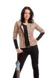 Sexy stylish woman posing Stock Photography