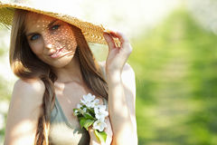Sexy summer girl Stock Photo