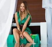 Sexy summer girl Stock Image
