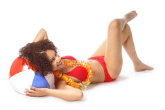 Sexy summer model Royalty Free Stock Photo