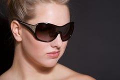 sunglass girl Royalty Free Stock Image