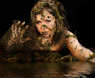 Sexy Swamp Creature Royalty Free Stock Photos