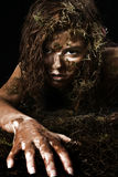 Swamp Woman royalty free stock photos