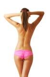 Sexy tan woman in bikini Royalty Free Stock Photos