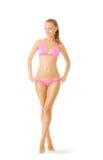 Sexy tan woman in bikini Royalty Free Stock Image
