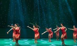 Sexy Tanz-lateinischer Tanz Lizenzfreie Stockfotos