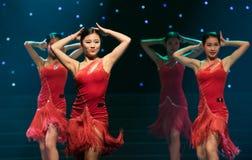 Sexy Tanz-lateinischer Tanz Stockbilder