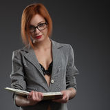 Sexy teacher. Stock Images
