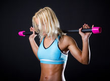 tired athlete Royalty Free Stock Images