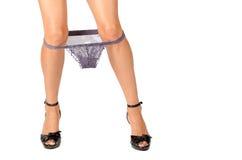 Sexy underwear down Royalty Free Stock Photo