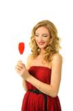 Sexy valentine girl Royalty Free Stock Photography