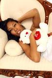 Valentine Woman Stock Photography