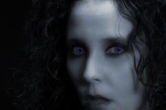 Sexy Vampier Royalty-vrije Stock Afbeeldingen