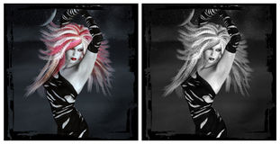 Vampire royalty free illustration