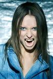 Sexy vampire Stock Image