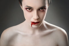Sexy vampire Stock Photography
