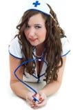 Sexy verpleegster Stock Afbeelding