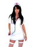 Sexy Verpleegster 4 van de Fantasie Stock Afbeeldingen