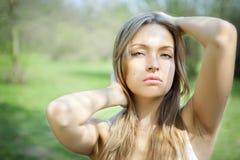 Sexy vrij jonge vrouw Royalty-vrije Stock Fotografie