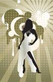 Sexy vrouw royalty-vrije illustratie