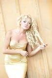 Sexy vrouw Royalty-vrije Stock Afbeeldingen