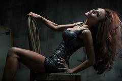Sexy vrouw stock foto