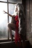 vrouw Royalty-vrije Stock Fotografie