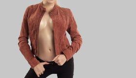 Sexy vrouwelijk lichaam Stock Foto
