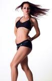 Sexy vrouwelijk model in zwempak Stock Afbeeldingen