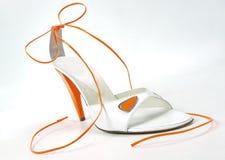 Sexy vrouwelijke schoen Stock Foto's
