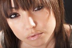 Sexy vrouwenportret Stock Afbeelding