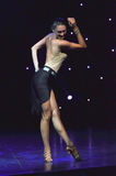 Sexy weiblicher Tänzer Stockbild