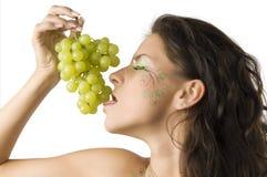 sexy winogron obraz stock