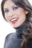 winter makeup Royalty Free Stock Image